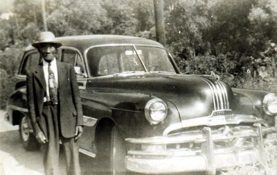 My great grandfather William Jefferson in Bramwell, WV ready for a road trip!