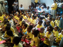National Black Arts Festival, Atlanta Central Library, Atlanta GA, Coretta Scott King Book Awards, Pre-K group activities