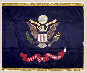 371st Colored Troops Flag