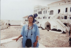 Serena Wilson on research trip to west Africa Ghana, Nigeria, Sierra Leon