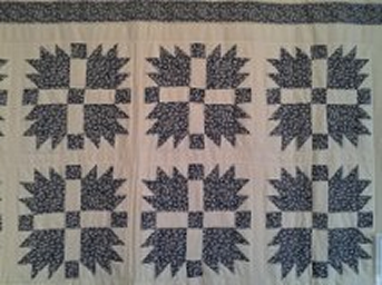 Bear Paw Trail pattern quilt
