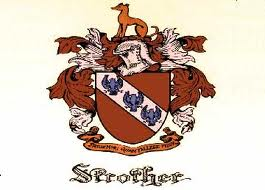 My Strother Coat of Arms, of our immigrant family to  America.