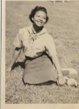 Serena Strother at West Virginia State College in Institute West Virginia  1953-1956