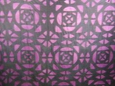 2 tone Indigo Cross Roads Pattern Quilt in the UGRR Secret Quilt Code Museum African Collection,