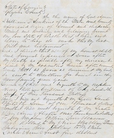 Coastal GA Family Wills from 1844 and 1858 naming Peter & Eliza Farrow as slaves and they were valued in 3 inventories\.