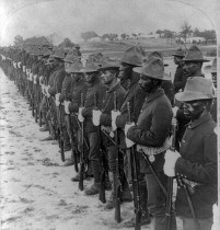 African American soldiers in the Spanish American War