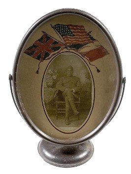 African American Military Commemorative  Oval