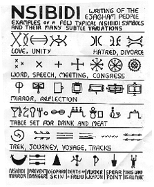 Nsibidi is just one of the West African Nigeria's written languages