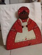 Teresa Kemp's UGRR Secret Quilt Code Museum Plantation Collections include Aunt Jemima doll postbellum collection includes 3 sets of these Aunt Jemima figurines and more.