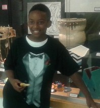 Jamel Thomas-Joyce, 12 year old Co-Author of jamel's Deep Sea Adventure is a Columbus Ohio Residen